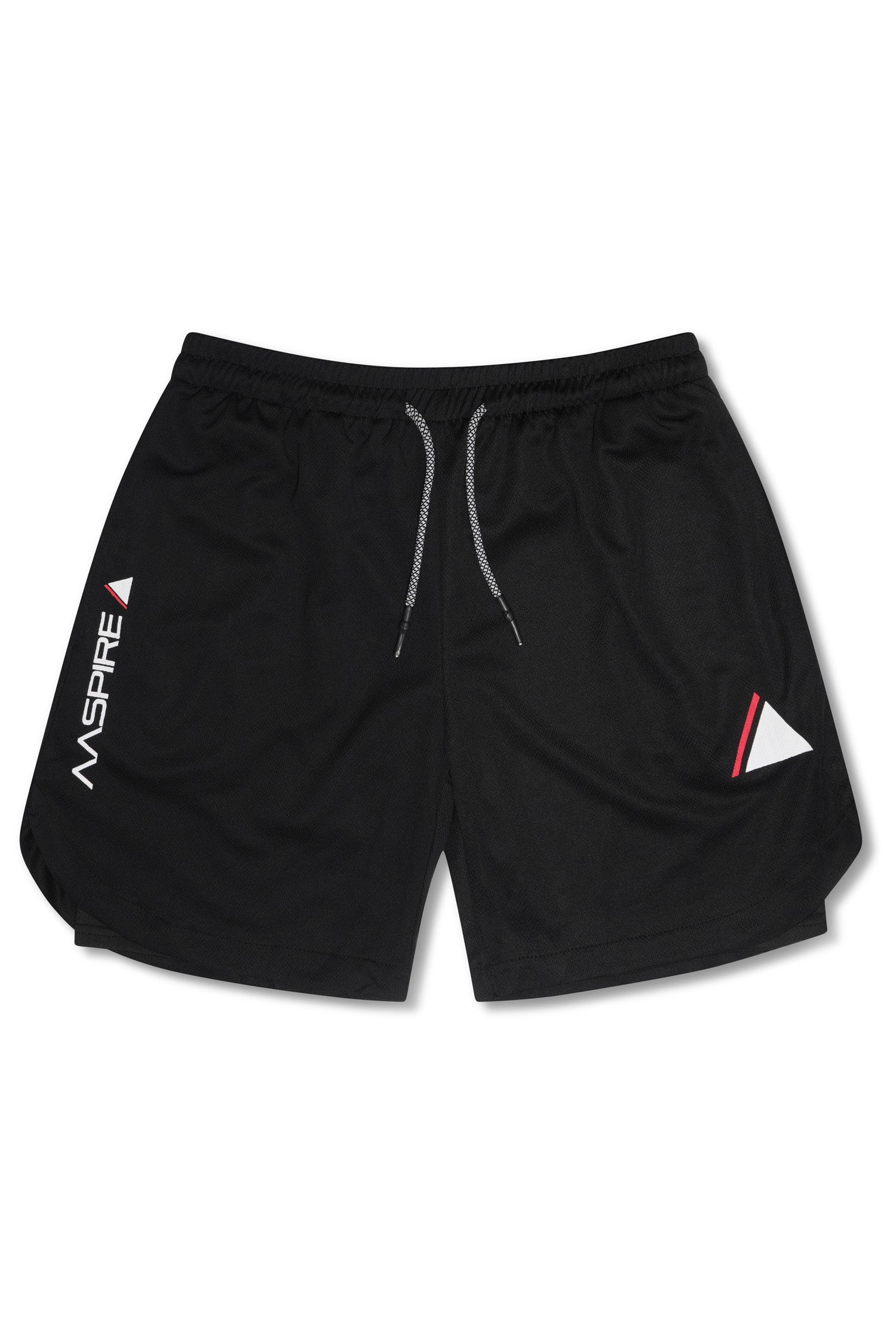 AASPIRE FLEX FIT SHORTS (BLACK)