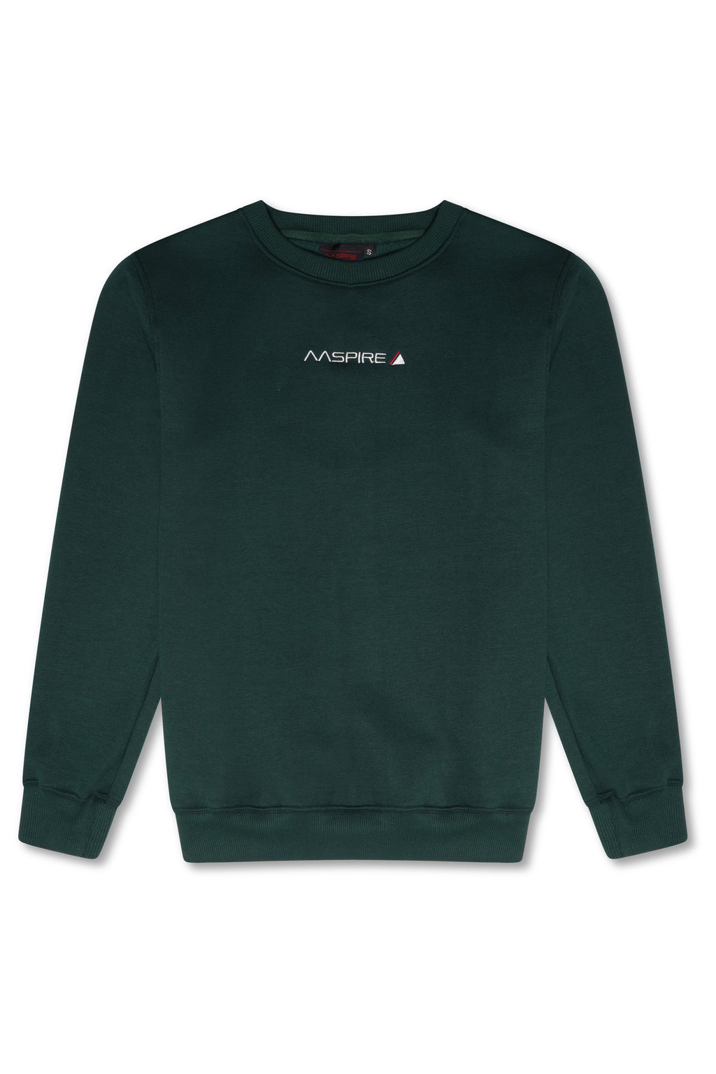 AASPIRE CREW NECK SWEATSHIRT (GREEN)
