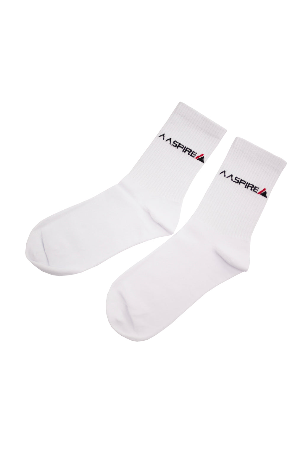 AASPIRE ORIGINAL 2 PACK SOCKS (WHITE)