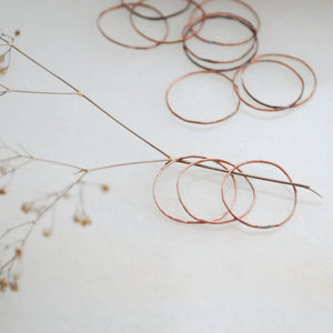 copper rings perfect for stacking
