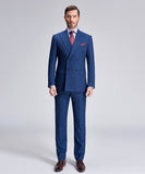 DAGENHAM ELEGANT STRIPE BLUE SUIT