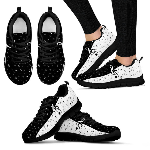 Music women's sneakers