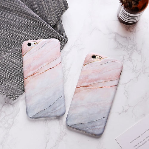 iPhone Case Cracked Marble