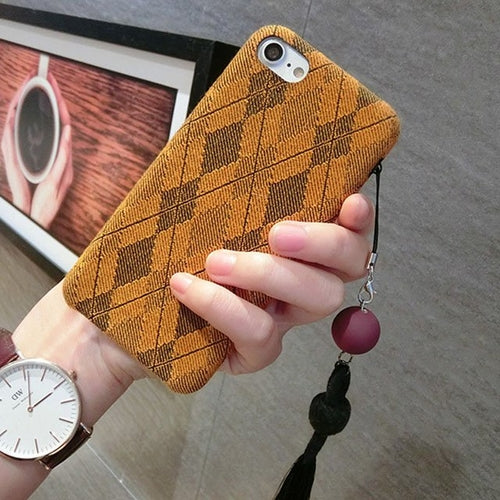 Cloth iPhone Case - Jackard Style
