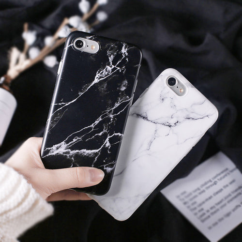 iPhone Case (6/7/8/Plus/X) Beautiful Marble Stone