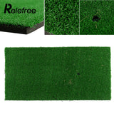 "Backyard Golf Mat 12""x24"" - 60x30cm - Residential Training Hitting Pad Practice Rubber Tee Holder Grass Indoor/Outdoor"