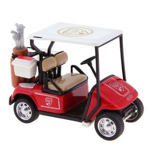 1:36 Scale Alloy Pull Back Model Car - High Simulation Golf Cart Model Diecast - Gift Collection  - Toy Vehicle Car