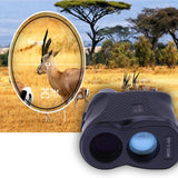 Golf Range Finder - Laser Monocular Measure Distance Speed Meter 600M