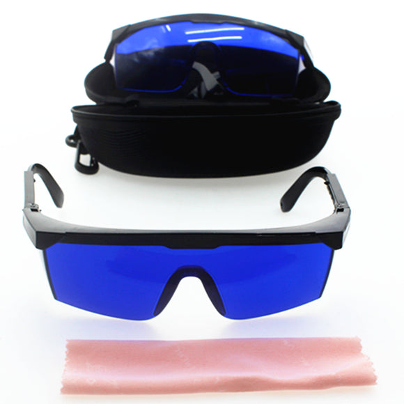 Golf Ball Finder Glasses with Case and Clean Cloth