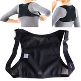 New Adjustable Posture Corrector Back Shoulder Support Belt Adult Nylon Corset Back for Men Women