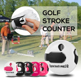 Small Golf Stroke Counter Mini Score Counter Simple Attachment Scorekeeper Golf One Reset Counter