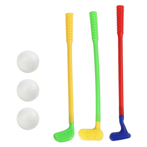 Plastic Golf Club Toys - Mini Golf Game - Golf Clubs Set for Kids