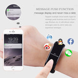 Waterproof Smart Bracelet Bluetooth - Heart Rate Blood Pressure Monitor - Fitness Tracker Step Counter Wristband