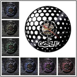 Wall Clock With LED Backlight 1 Piece - Professional Golf Player - Vinyl Record Golf Club - Wall Watch - Art Decorative Lighting