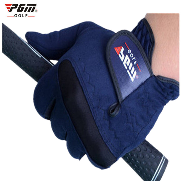 Genuine PGM Golf Gloves Men - Fabric Navy blue