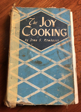 1943 edition of Joy of Cooking by Irma S. Rombauer