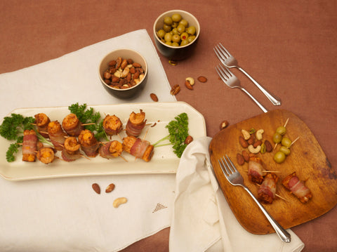 Joy of Cooking cheese and bacon hors d'oeuvres