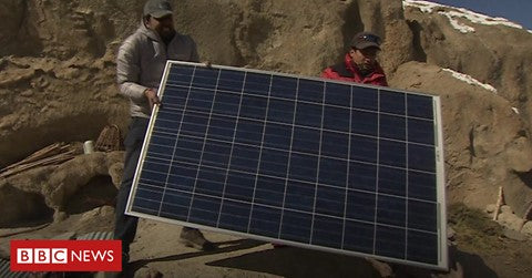 Bringing solar power to a remote community in the Himalayas