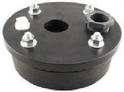 "Plastic Well Seal Single Hole 5"" x 2"""