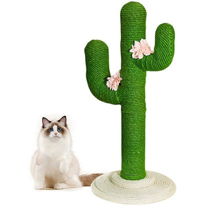 CACTUS CAT SCRATCHING POST - Cat Climbing Scratching - CACTUS CAT TREE - Smith & Jones Australia