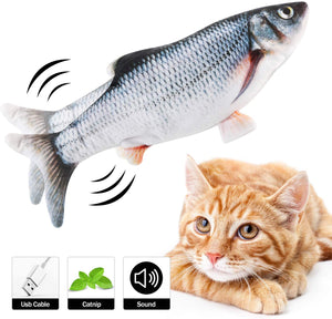 Electric Fish Cat Toy - Wiggling Fish Cat Toy Trout - Smith & Jones Australia