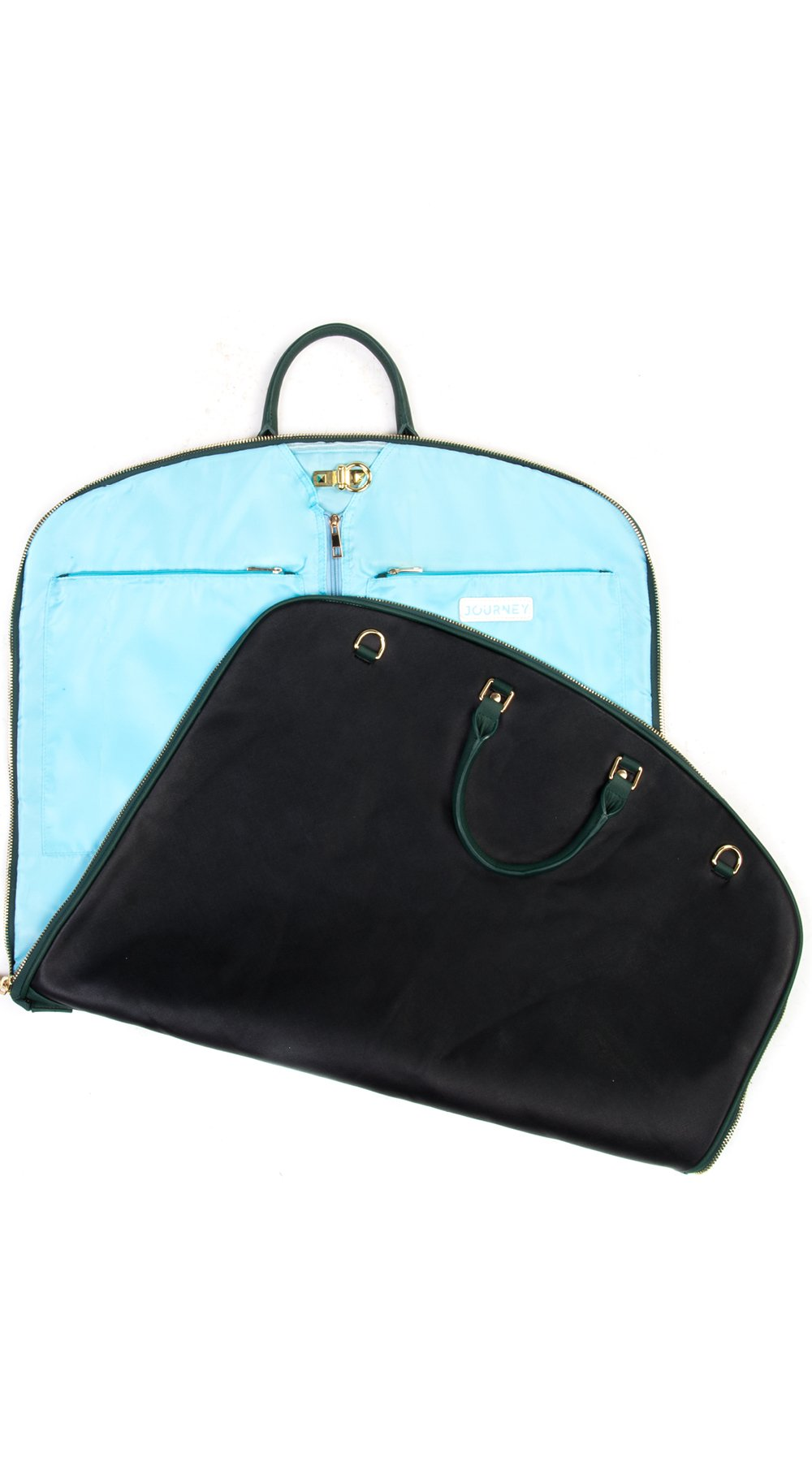 Garment Bag - Black/Green - Smith & Jones Australia