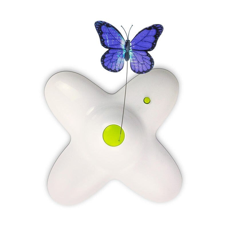 Butterfly Interactive Cat Toy Teaser Fun - Flutter Bug All for Paws - Smith & Jones Australia