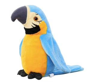 Talking Plush Parrot - Smith & Jones Australia