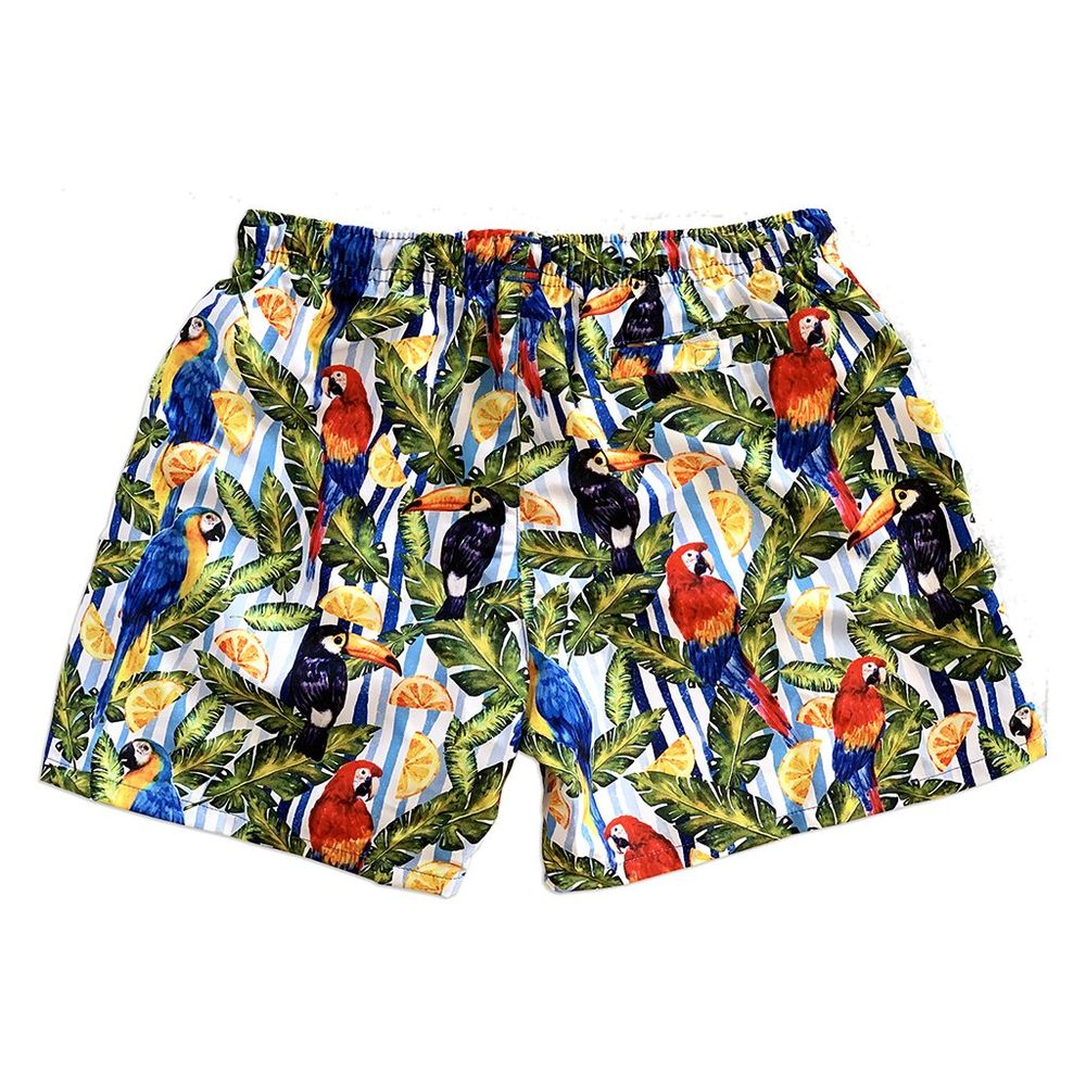 La Palma Eco-Beachwear: Classic Tropical Style Sustainable Swim Trunks - Smith & Jones Australia
