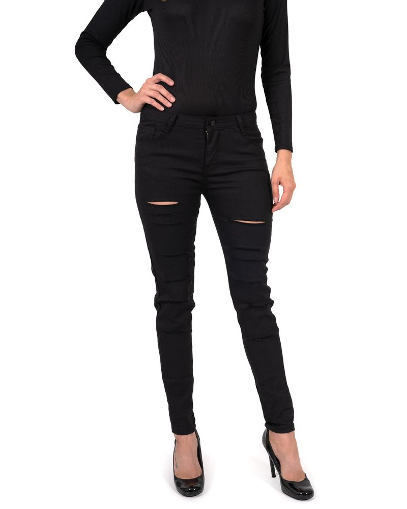 Clifton Ripped High Waisted Womens Skinny Jeans - Smith & Jones Australia