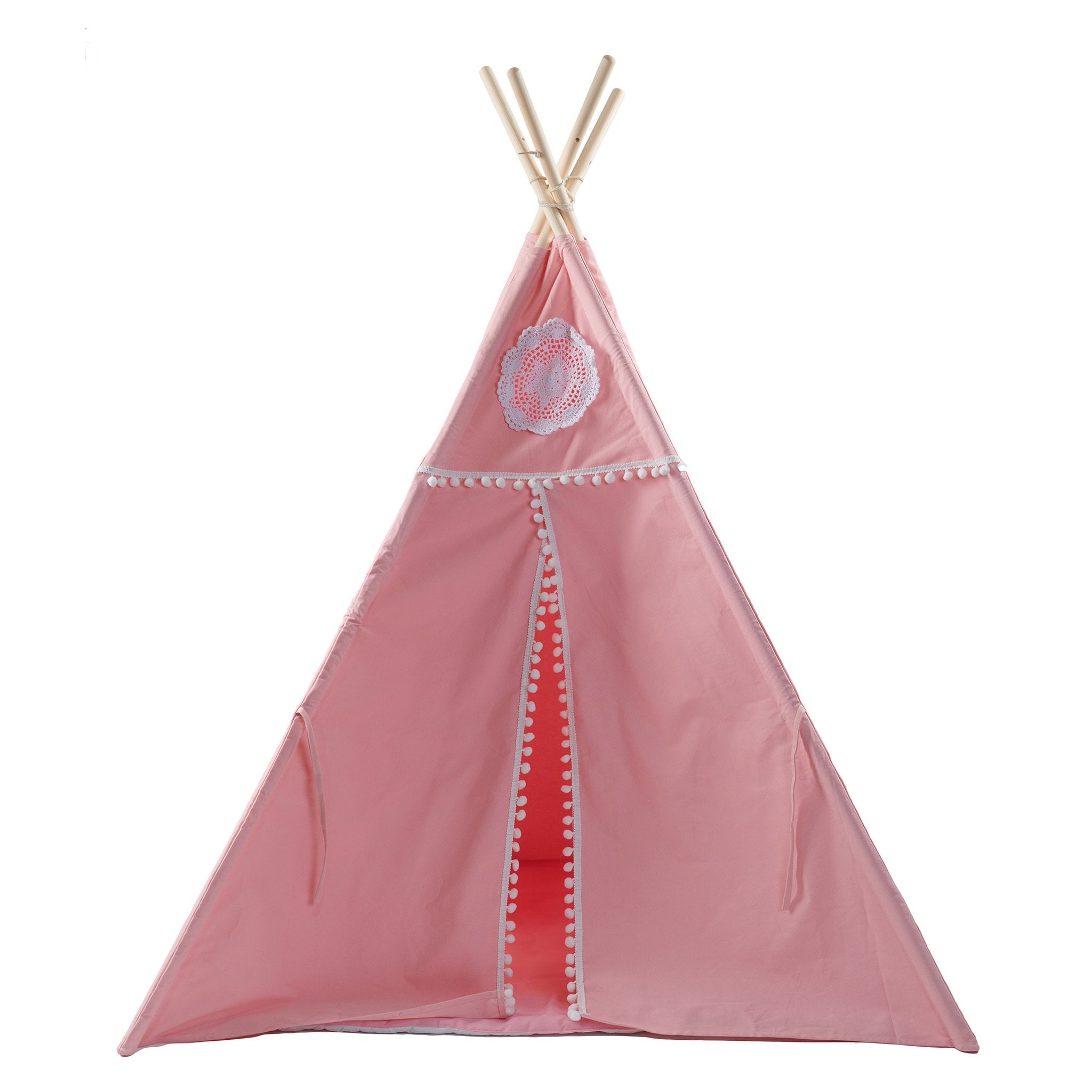Pink Teepee with Mat - Smith & Jones Australia