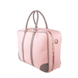 Soft Sided Case - Pink/Grey - Smith & Jones Australia