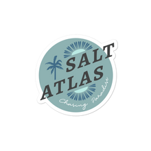 Load image into Gallery viewer, Salt Atlas Chasing Paradise Stickers - Teal