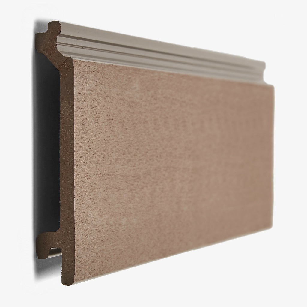 Hyperion composite cladding panel walnut brown