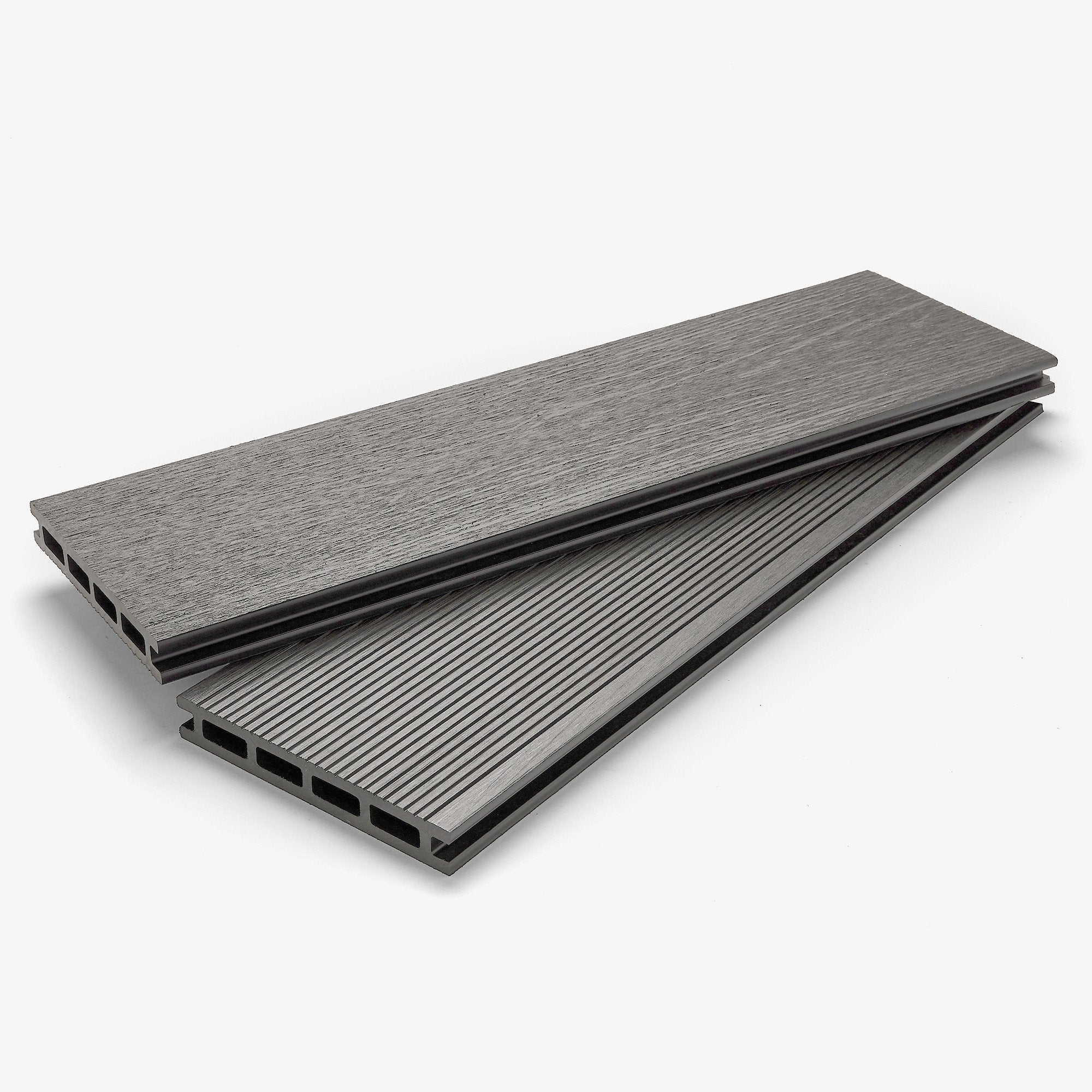 Composite Deck Board - Stone Grey | HYPERION Decking