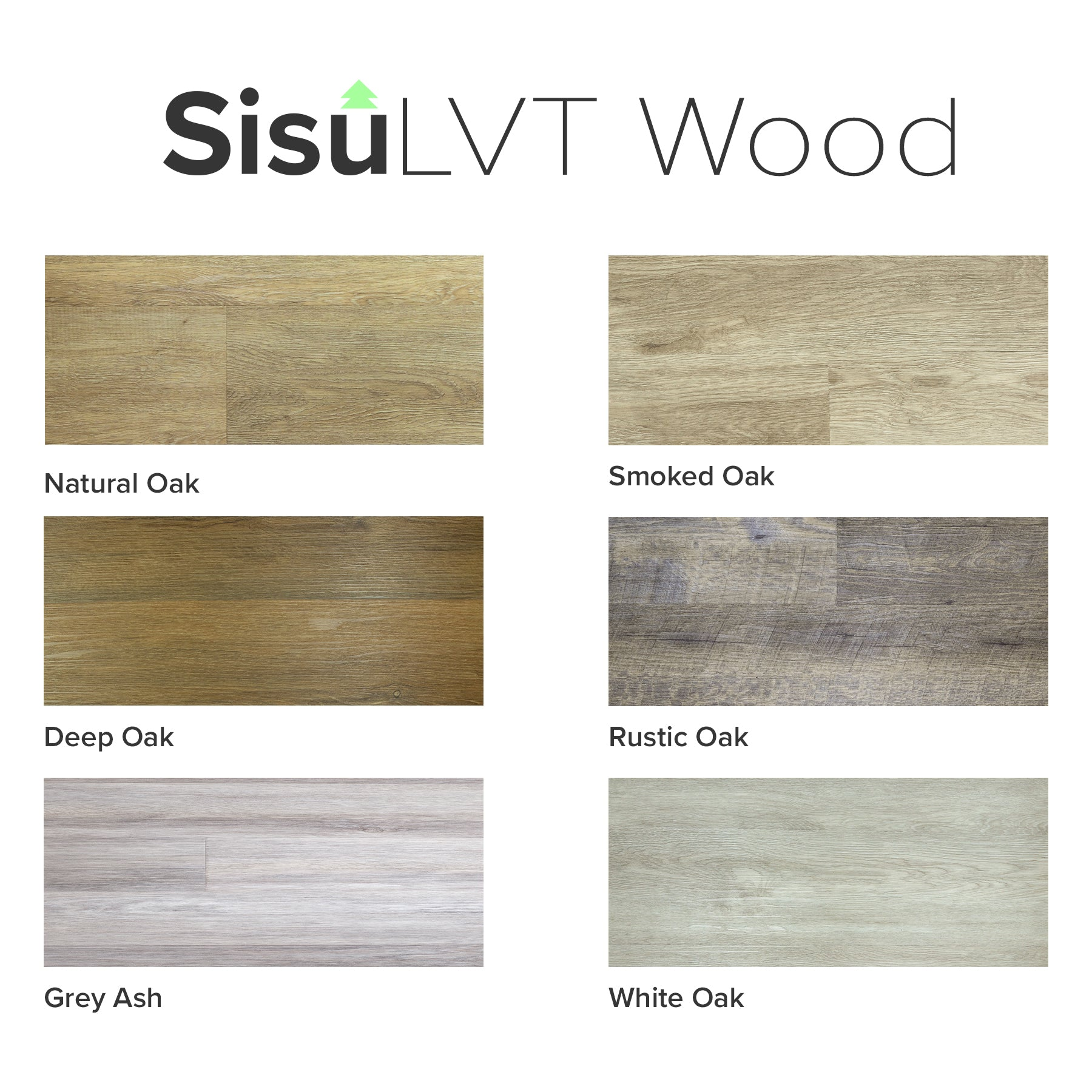 Sisu Vinyl | Sample Pack - Deep Oak Click