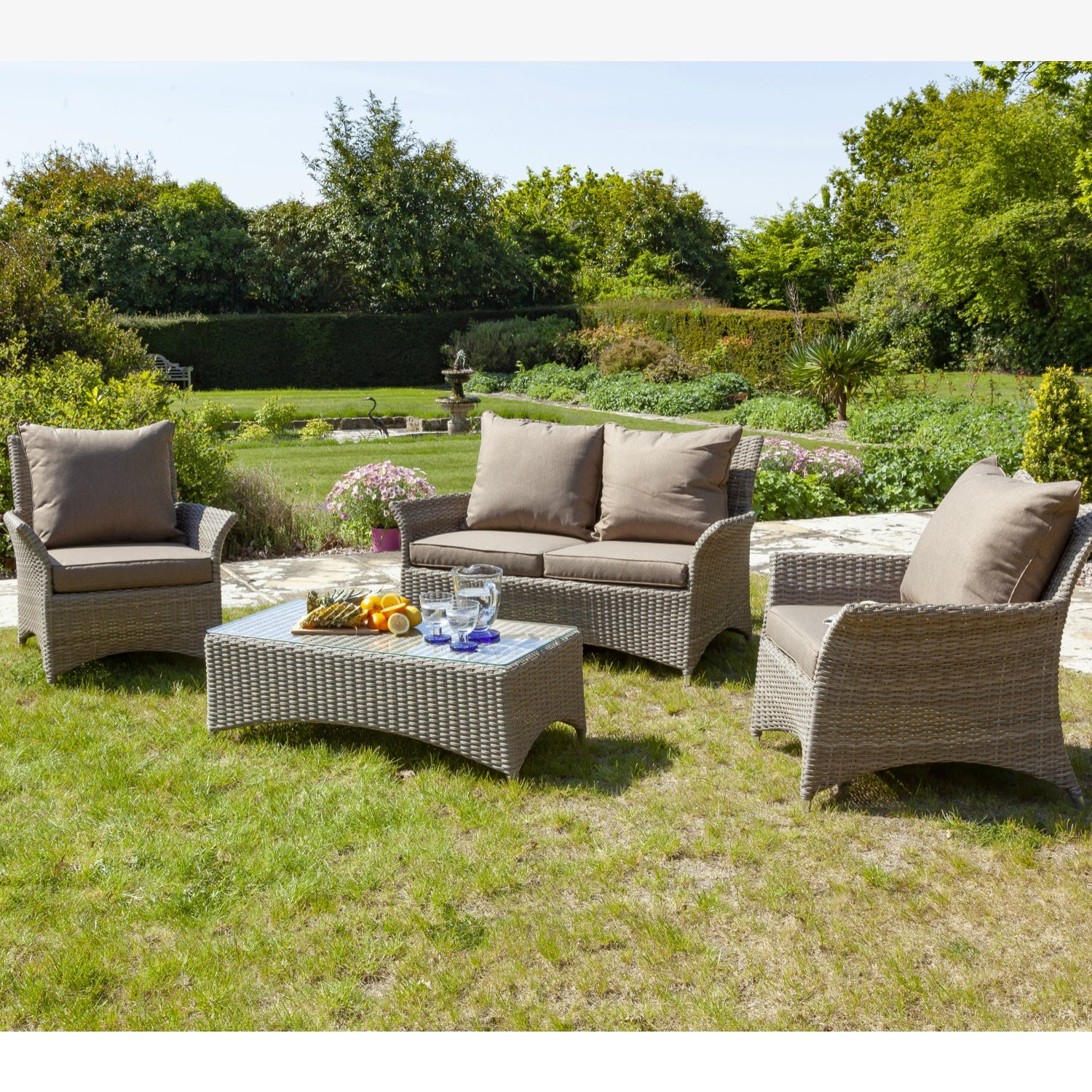 Galleon Mimosa 4 Seater Sofa Set