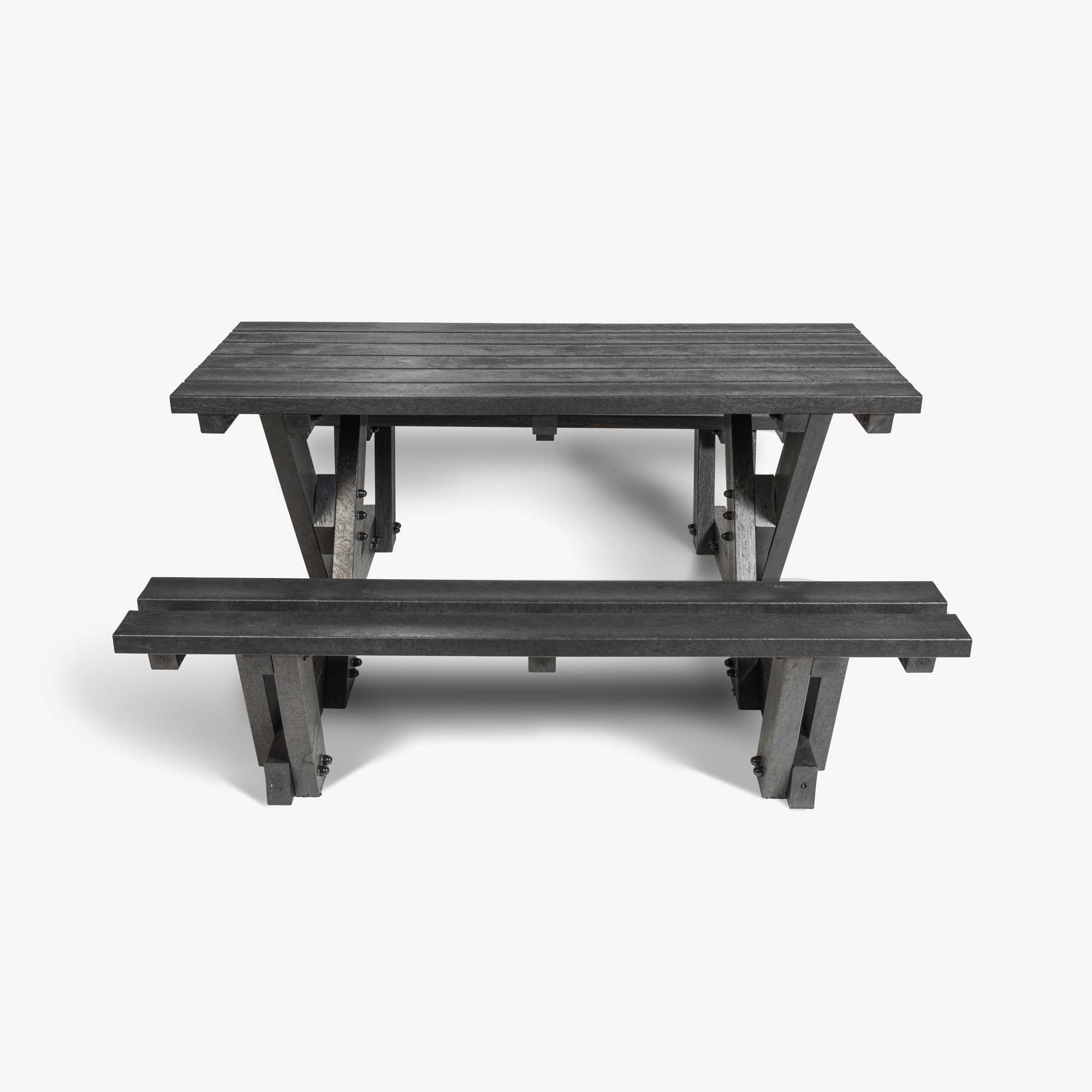 Regent Picnic Table | Basalt