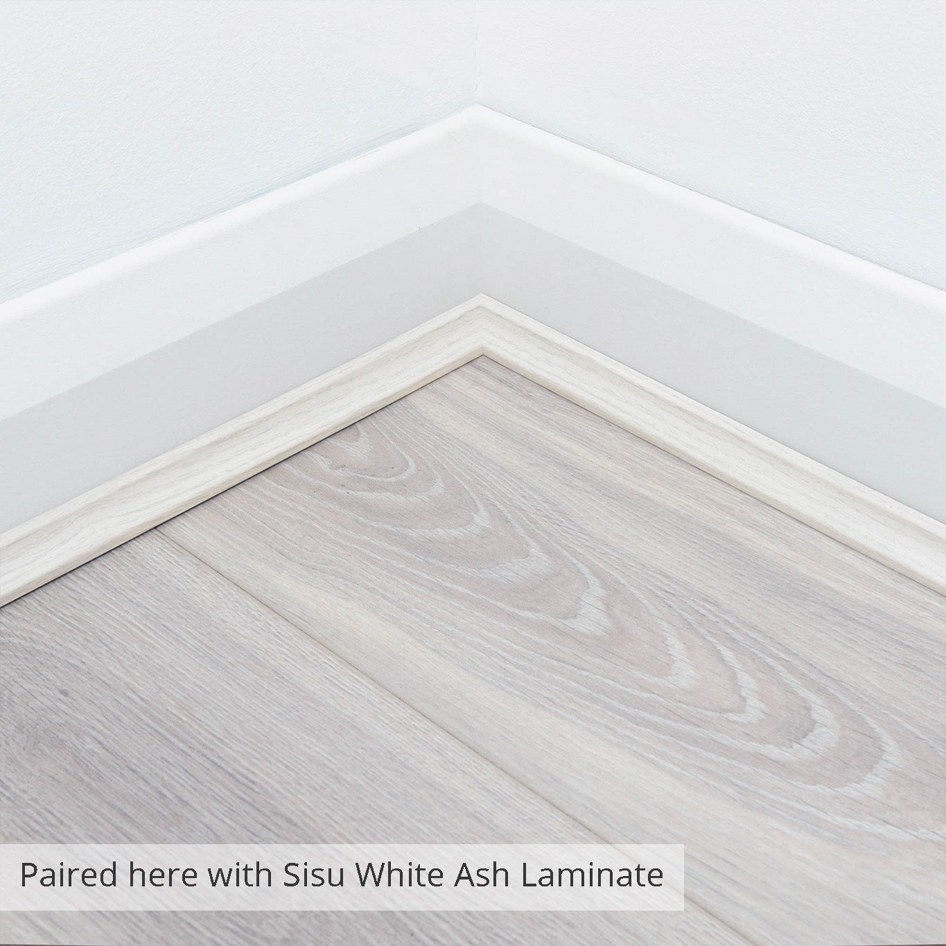 White Washed Oak Scotia Beading