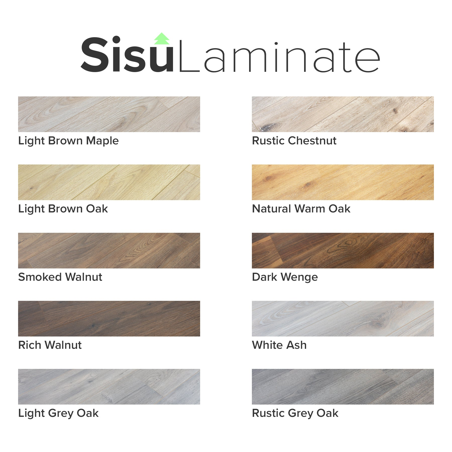 Sisu Laminate | Sample Pack - Rich Walnut 12mm
