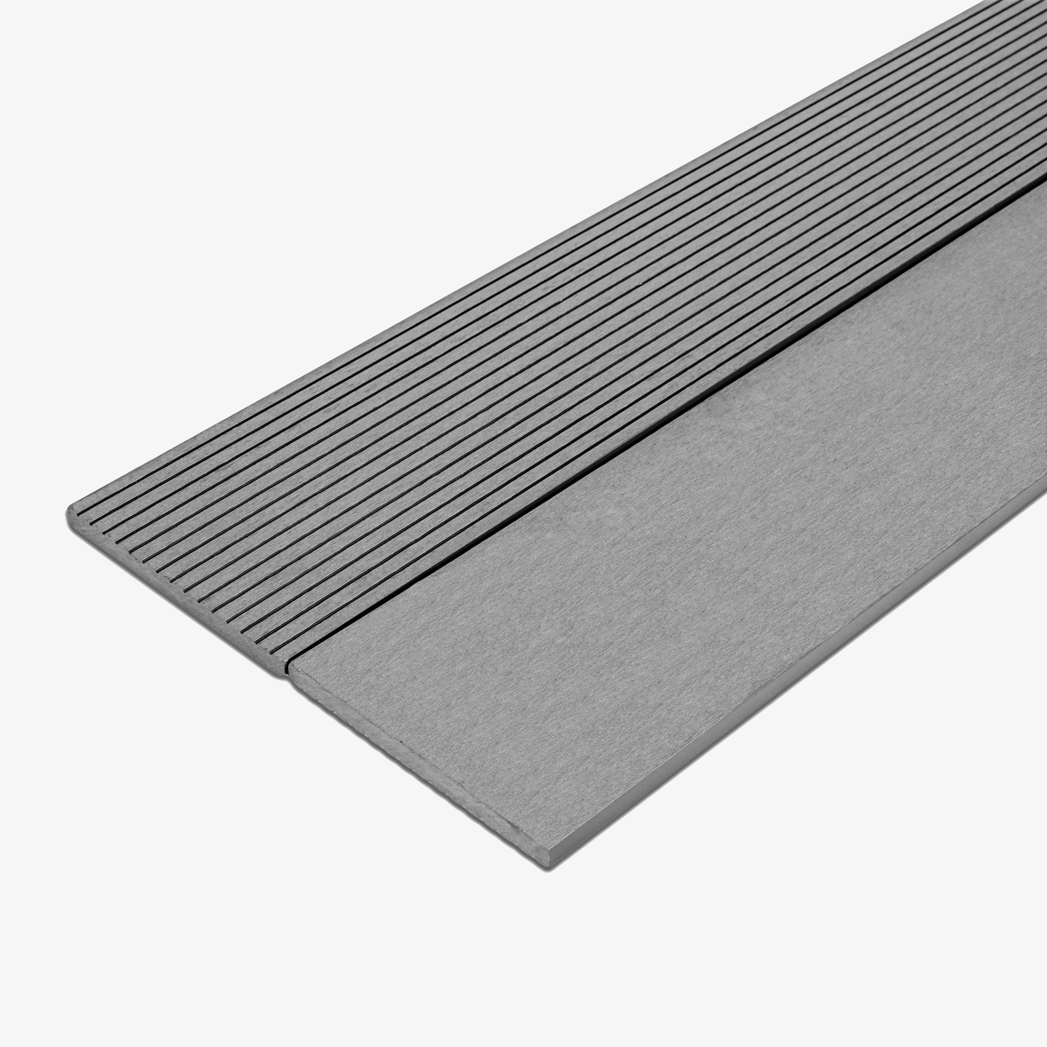 Composite Deck Fascia Board - Stone | HYPERION Decking
