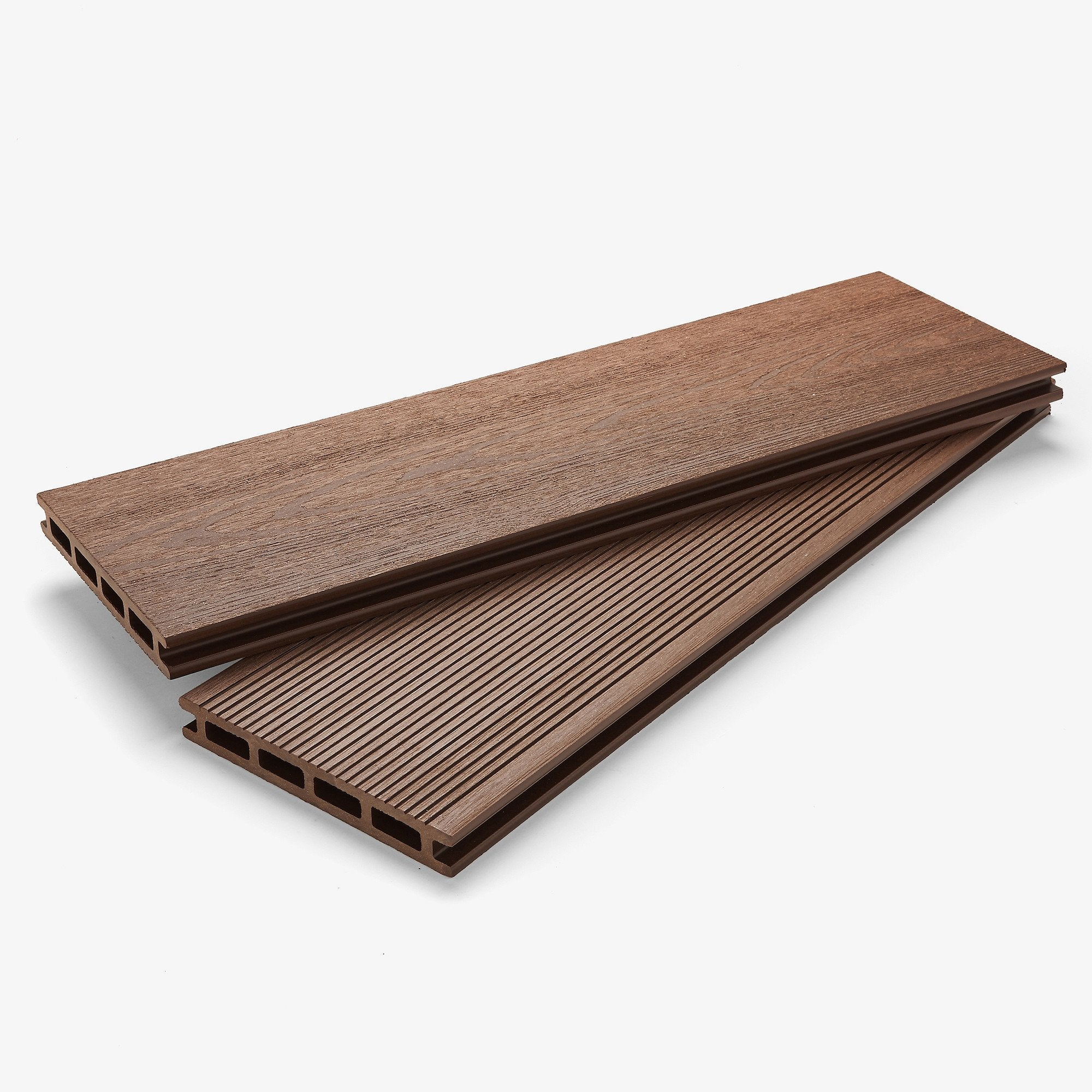 Composite Deck Board - Walnut Brown | HYPERION Decking