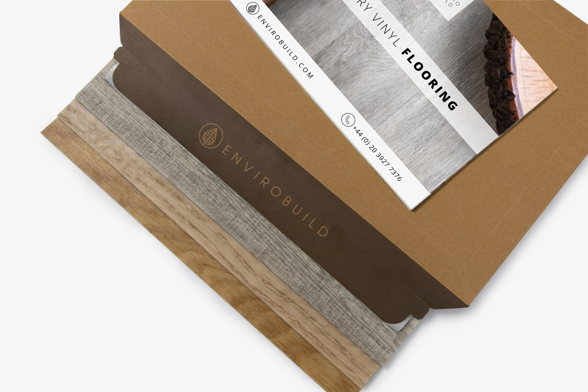 Sisu Vinyl | Sample Pack - Natural Oak Dryback