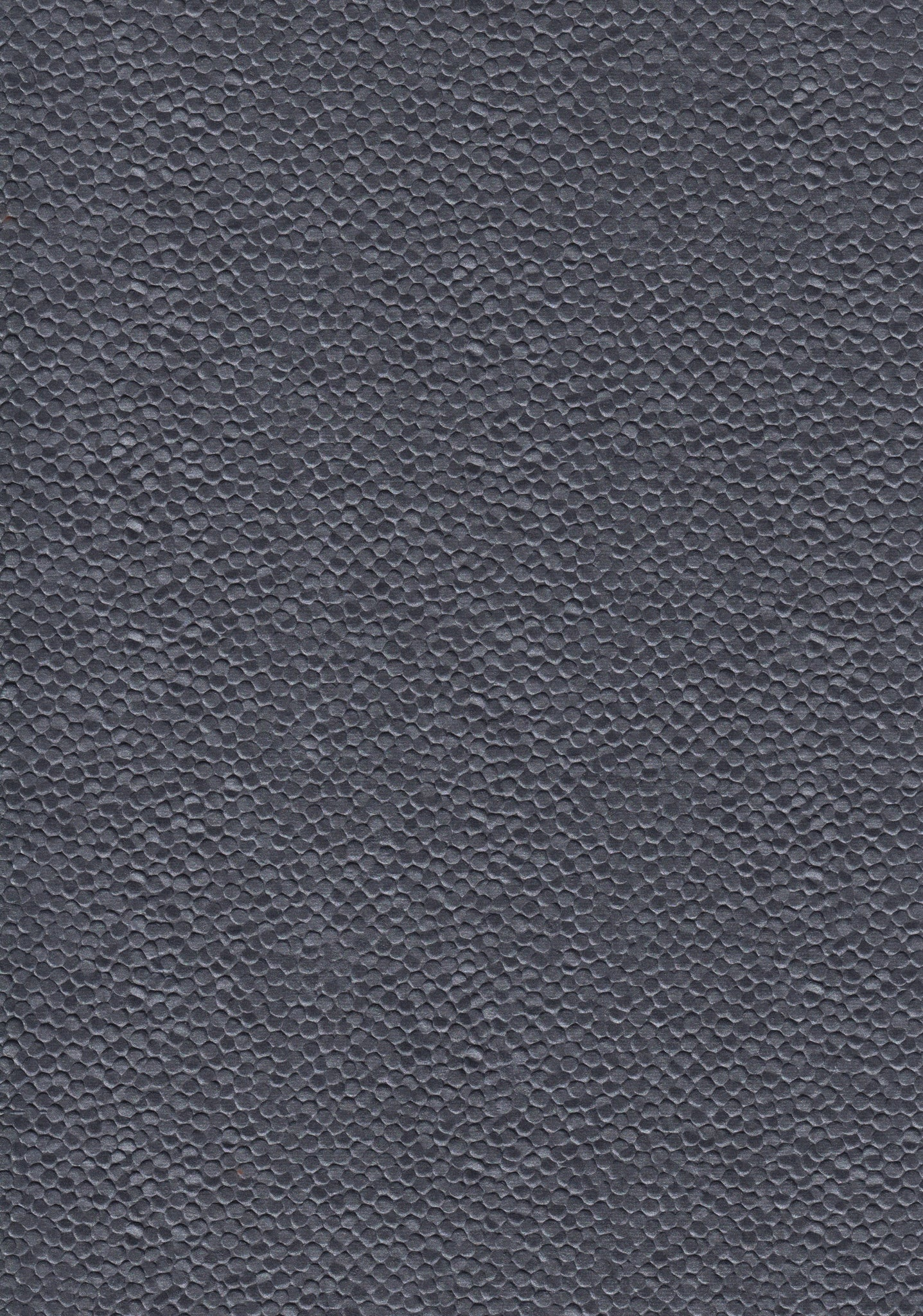 A4 Paper / Pattern No.110 Embossed Metallic Pebble Black