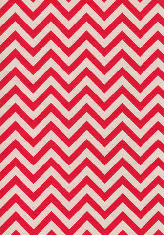 A4 Paper / No.92 Chevron Red