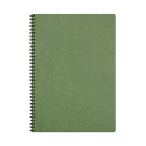 Clairefontaine Spiral Bound GREEN Notebook / A4