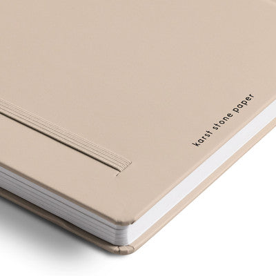Karst Hard Cover Notebook / Dot Grid A5 / Dune