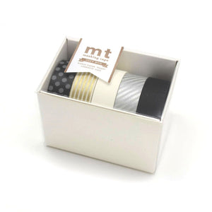 MT Washi Tape: Set of 5 / MONOTONE