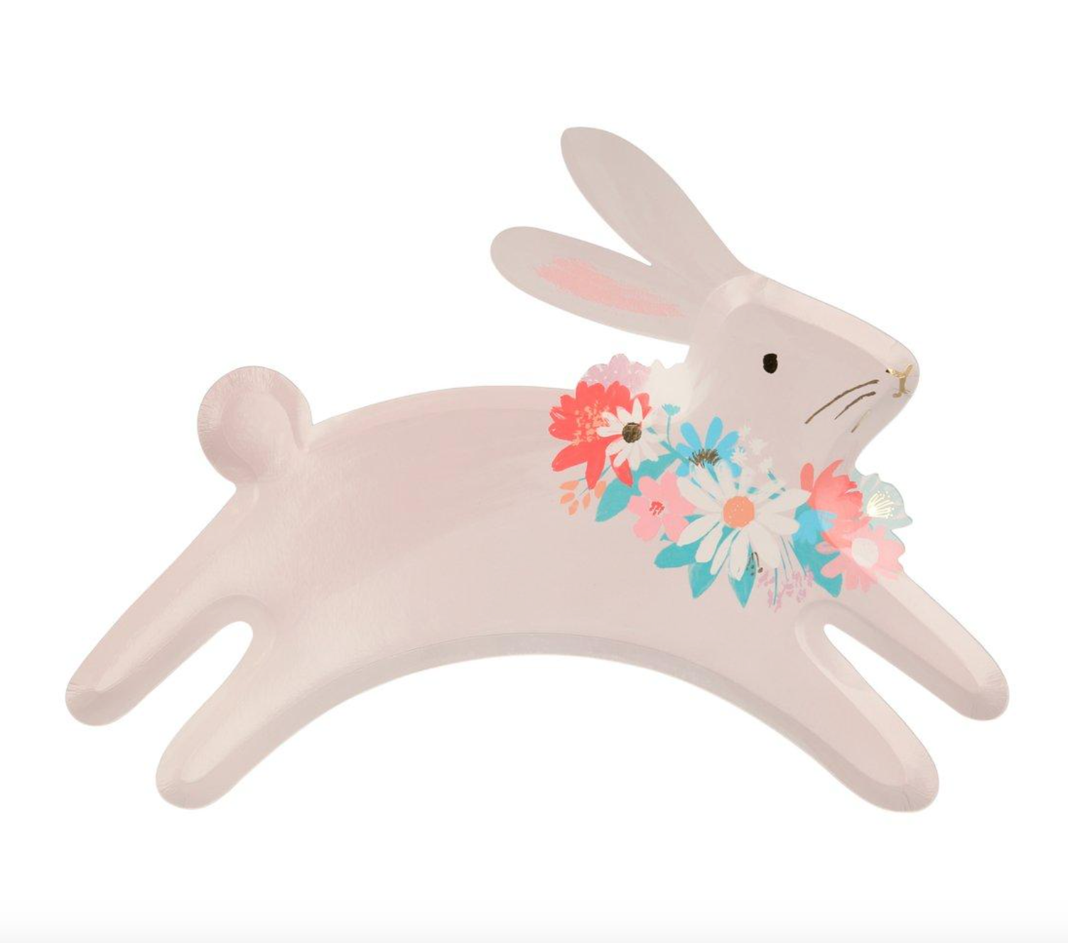 Leaping Bunnies Plates