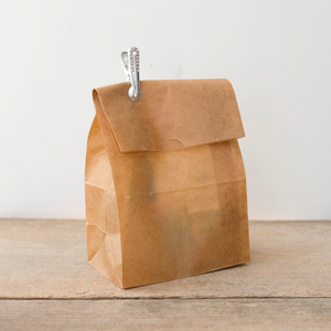 Brown Gift (Waxed Paper) Bag